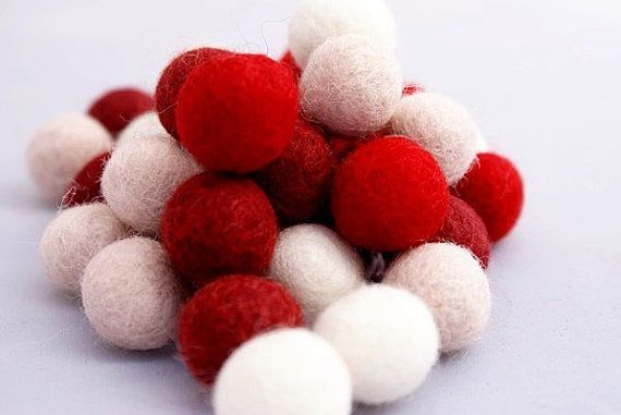 Check out this item in my Etsy shop https://www.etsy.com/listing/466583576/set-of-felt-balls-valentines-day-20-mm