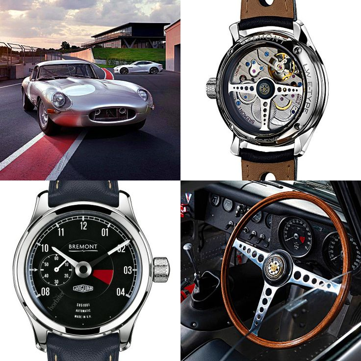 6 Iconic Classic Cars paired with 6 Bespoke Timepieces: the BREMONT Lightweight E-Type