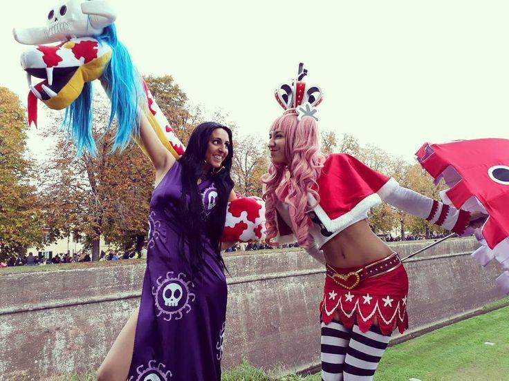 "@amalithya.cosplay__art su Instagram: ""When Perona meets Boa Hancock... Who win?😆 Quando Perona incontra Boa Hancock... Chi vincerà? 😆 . .…"""