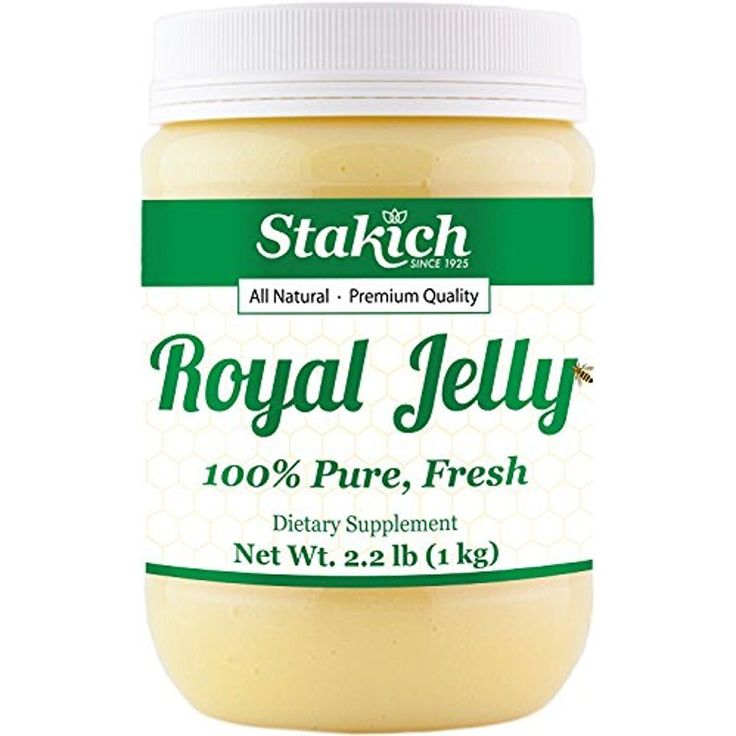 2.2 lb Pure Fresh Royal Jelly 100% Natural Bee Stakich Premium High Strength 1kg #Stakich