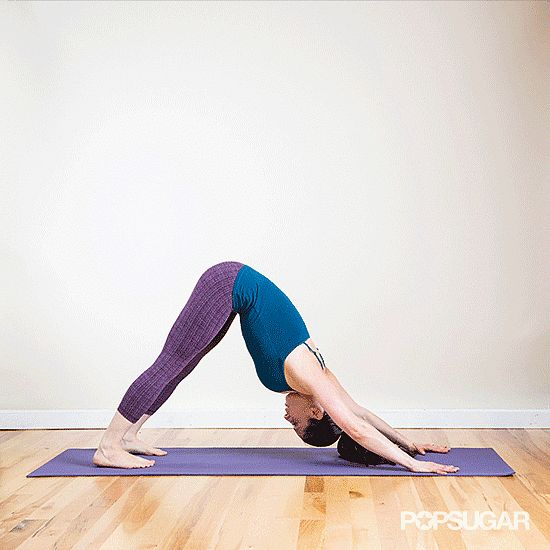 This yoga-inspired dynamic warmup is a great one to have in your back pocket for pre-Winter runs or to wake your body up before an early-morning jog. Repeating these two moves will help you have a great run.  Source: Louisa Larson Photography