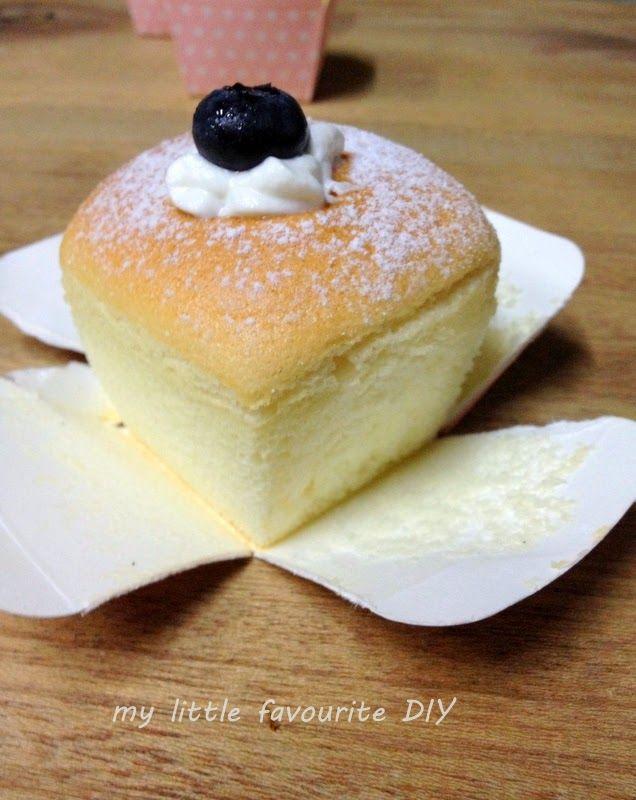 my little favourite DIY: Hokkaido Chiffon Cake - A Cake that will make you Smile (Bake Along #64)