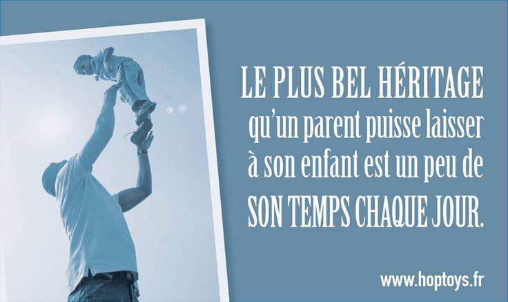 #PenséePositive Bonne #semaine à tous! Le + bel #héritage qu'un #Parent puisse laisser à son enfant est un peu de sont temps chaque jour ...#citation