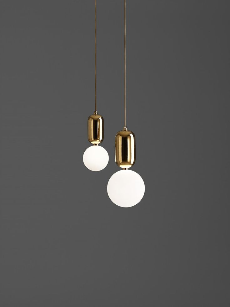 HAYON STUDIO - PARACHILNA Aballs Gold Group pendants