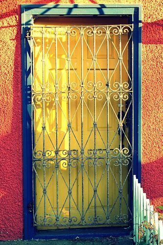 Yellow Door and Iron Gate Vancouver Eastside