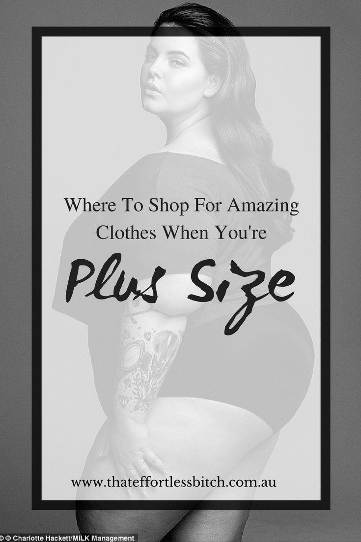 Plus Size Style Clothing Shopping