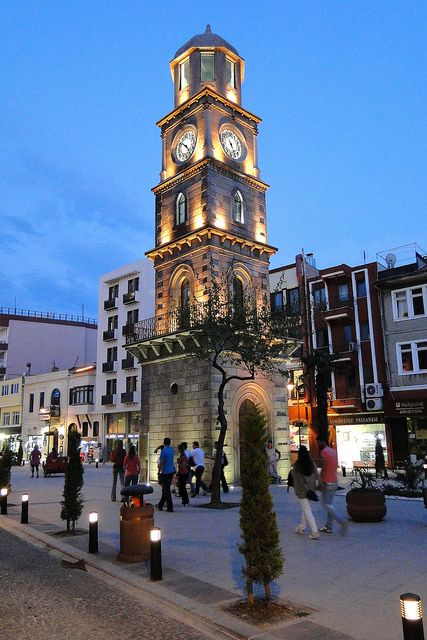 Clocktower, Canakkale, Turkey
