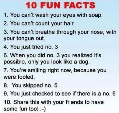 People are so dumb and predictable sometimes! I did every one... :)