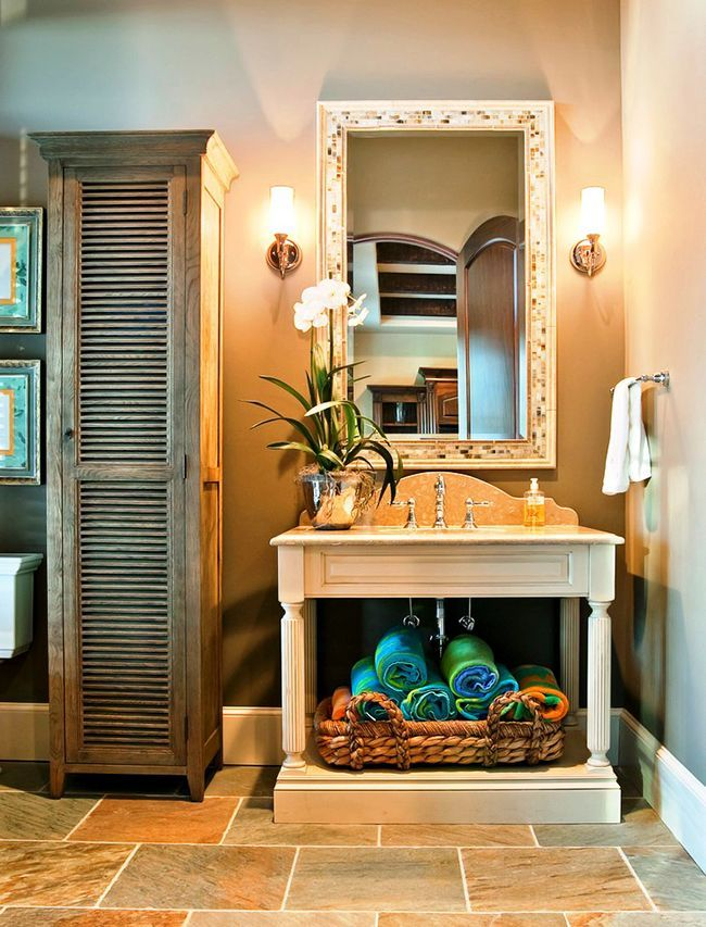Bathroom cabinets how to combine practicality and aesthetics photo 21