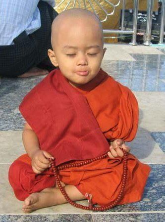 The littlest monk, with his prayer beads.#Repin By:Pinterest++ for iPad#