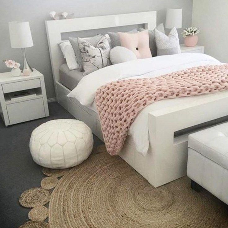 Pink And Grey Bedroom Ideas Newhomesandrews Within Grey Pink And