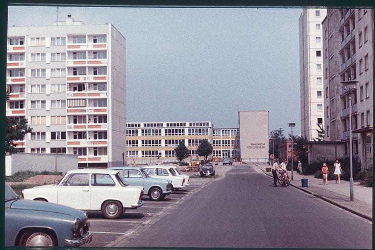 Potsdam Burgstraße 1980 - (Foto: ©Heinz Korff, Berlin)