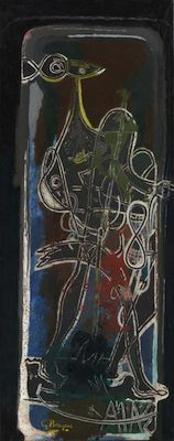 Ajax, par Georges Braque