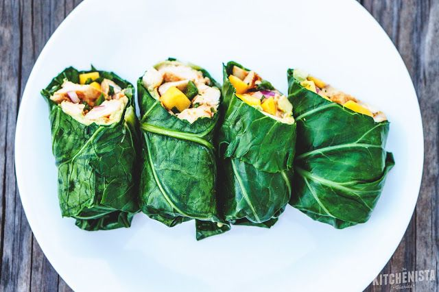 How to Prep Collard Green Leaves for Low-Carb Wraps - The Kitchenista Diaries