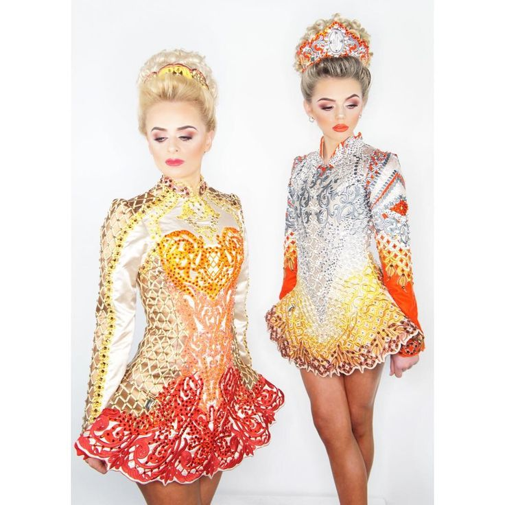 Irish dance solo dresses