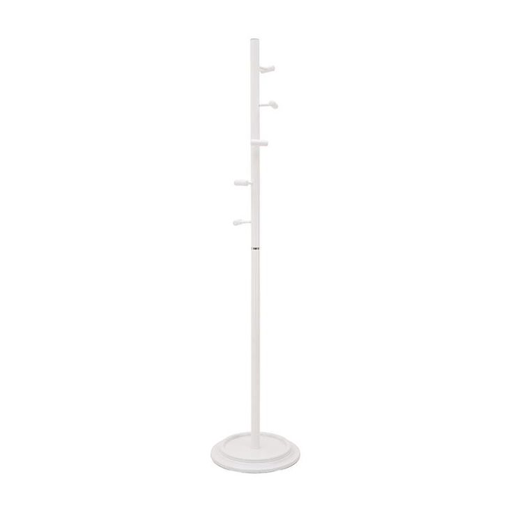 METAL COAT HANGER IN WHITE COLOR 40X40X175 - Coat Hangers - FURNITURE