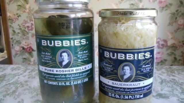 Bubbies, Sauerkraut and Pickles the Immune Builders