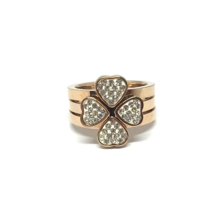 Les Jumelles - Shop now - Juwelen - Ringen - Flower Ring Roos Goud