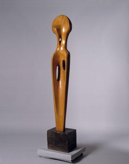 Barbara Hepworth Single Form (Dryad) Cornish elm, 1945–46