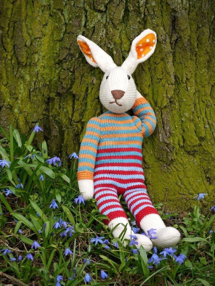 55 best knitting patterns for easter images on pinterest knit julius easter bunny osterhase negle Gallery