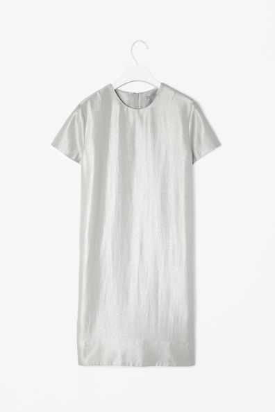 COS's Metallic dress