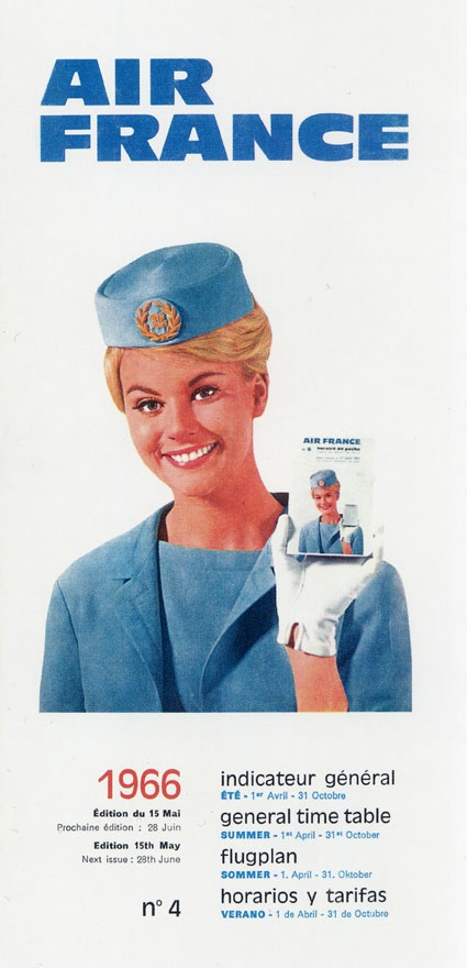 Air France... stewardess