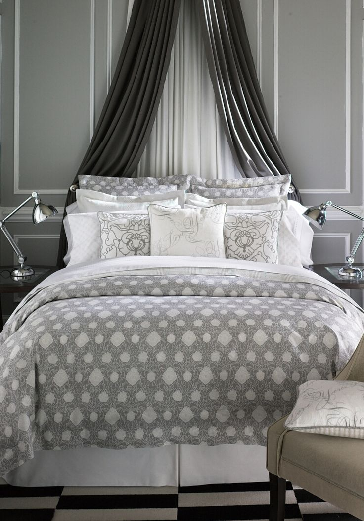 25 Best Ideas About Curtain Behind Headboard On Pinterest
