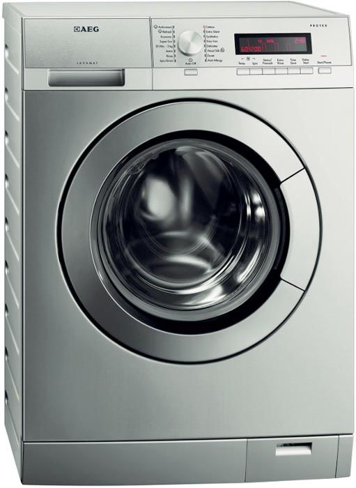 AEG L85275XFL - Washer 1200spin 7kg Inverter Motor LCD Display St/Steel | Power Direct Online Electrical Superstore