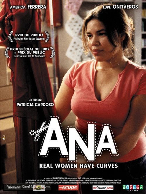 Real+Women+Have+Curves+French+movie+poster