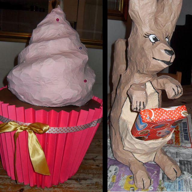 Inspiratie voor het maken van je surprise. Op de site ook nog een hele uitleg van hoe je de cupcake kan maken!