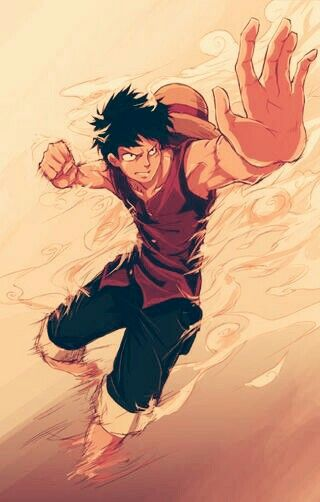Luffy /Gear Second