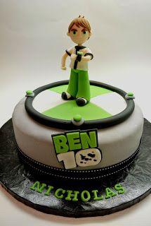 Beautiful Kitchen: Ben 10 Cake for Nicholas' 6th Birthday