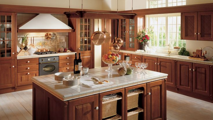 Baltimore kuchyně rohová s ostrůvkem / kitchen with island