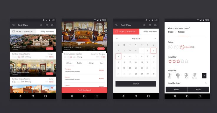 Hotel Booking – MaterialUp