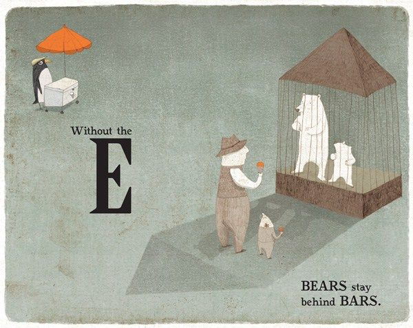 Take Away the A: An Unusual Illustrated Alphabet Book about How We Make Meaning – Brain Pickings