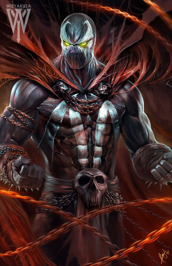 Spawn one of my favourite comic book characters by Todd mcfarlane