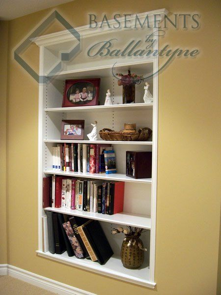 17 Best Images About Recessed Shelving On Pinterest