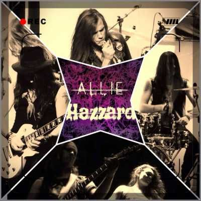 The Swedish rock band Allie Hazzard announced via its Facebook page that a few weeks will release two new songs, produced by Adde Zäta from Crazy Lixx.