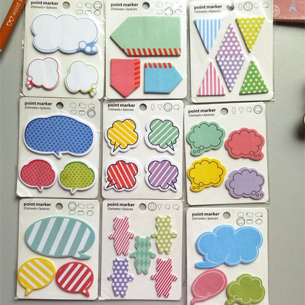 1pcs/lot New Message memo Notepad sticky note Memo Pads Paper sticker Writing Scratch Pad Gifts #Affiliate