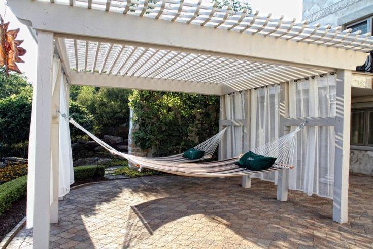 die 25 besten ideen zu pergola en bois auf pinterest holzterrasse holzterrassen und terrasse. Black Bedroom Furniture Sets. Home Design Ideas