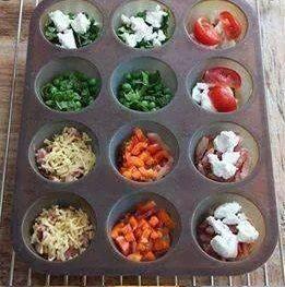 mini-quiches - preparation des ramequins