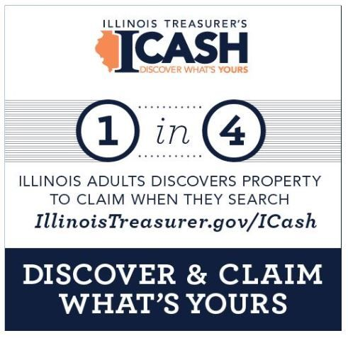 Get Your Unclaimed Cash from the Illinois Treasurer's I-Cash Program! #ICash #ad
