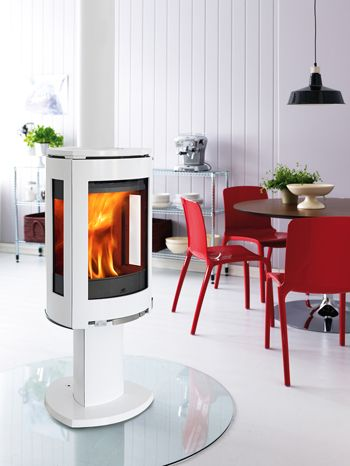 125 best stoves po les bois images on pinterest wood for Poele a bois blanc