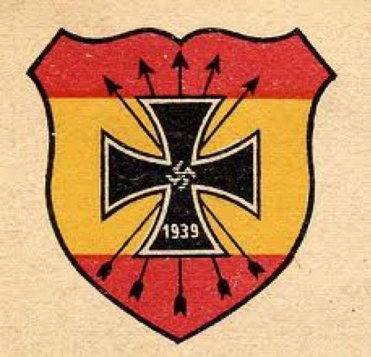 Emblema de la División Azul
