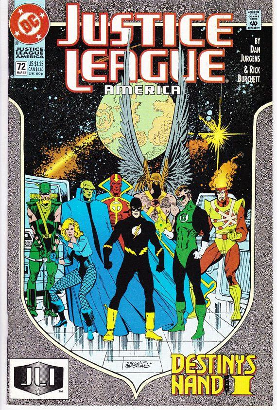 Justice League of America 72  March 1993   DC Comics   Grade