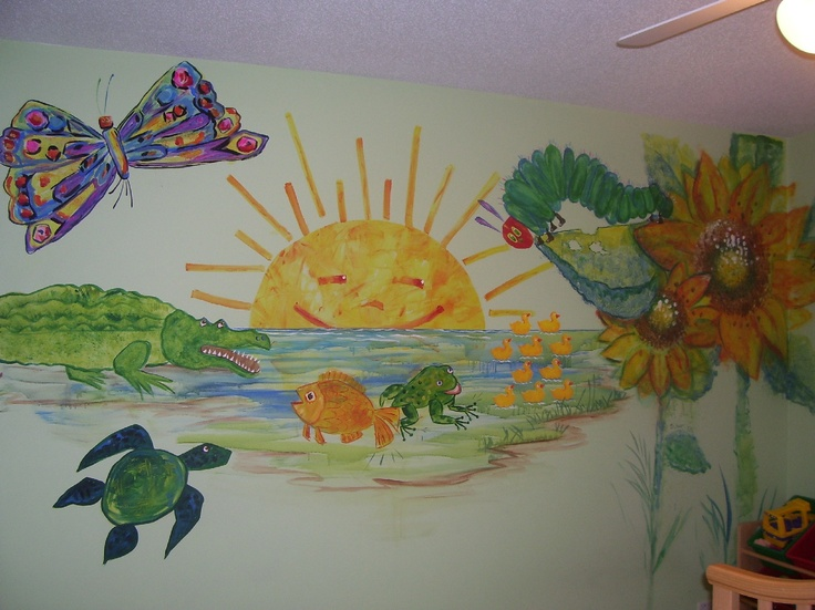 1000 images about eric carle room on pinterest bedrooms for Eric carle mural