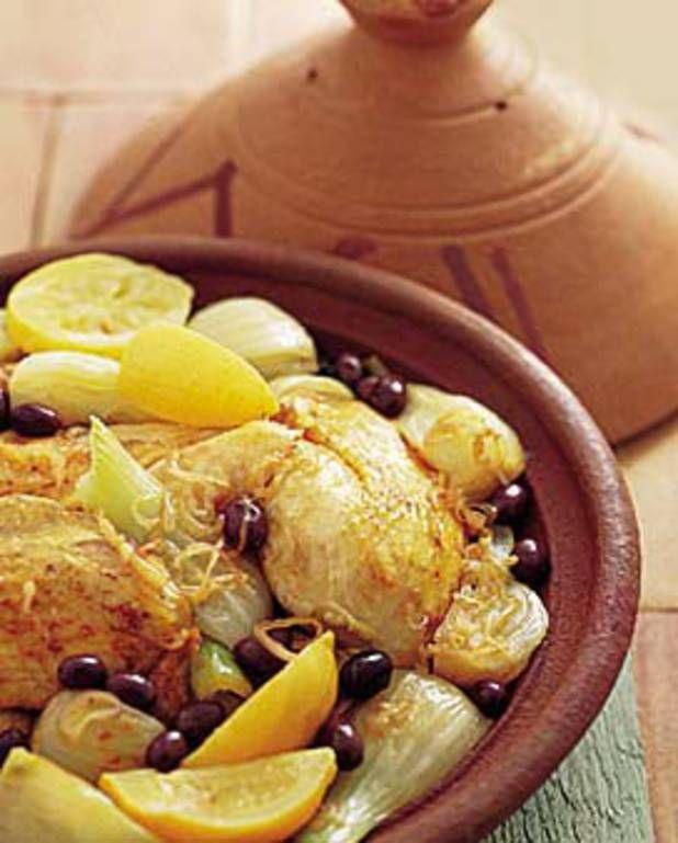 tajine de poulet aux fenouils pour 4 personnes - Recettes Elle à Table