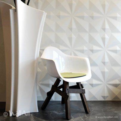 Dajte notranji opremi nov videz. S 3D-stenskimi oblogami Wall Art lahko popolnoma spremenite podobo ambienta.