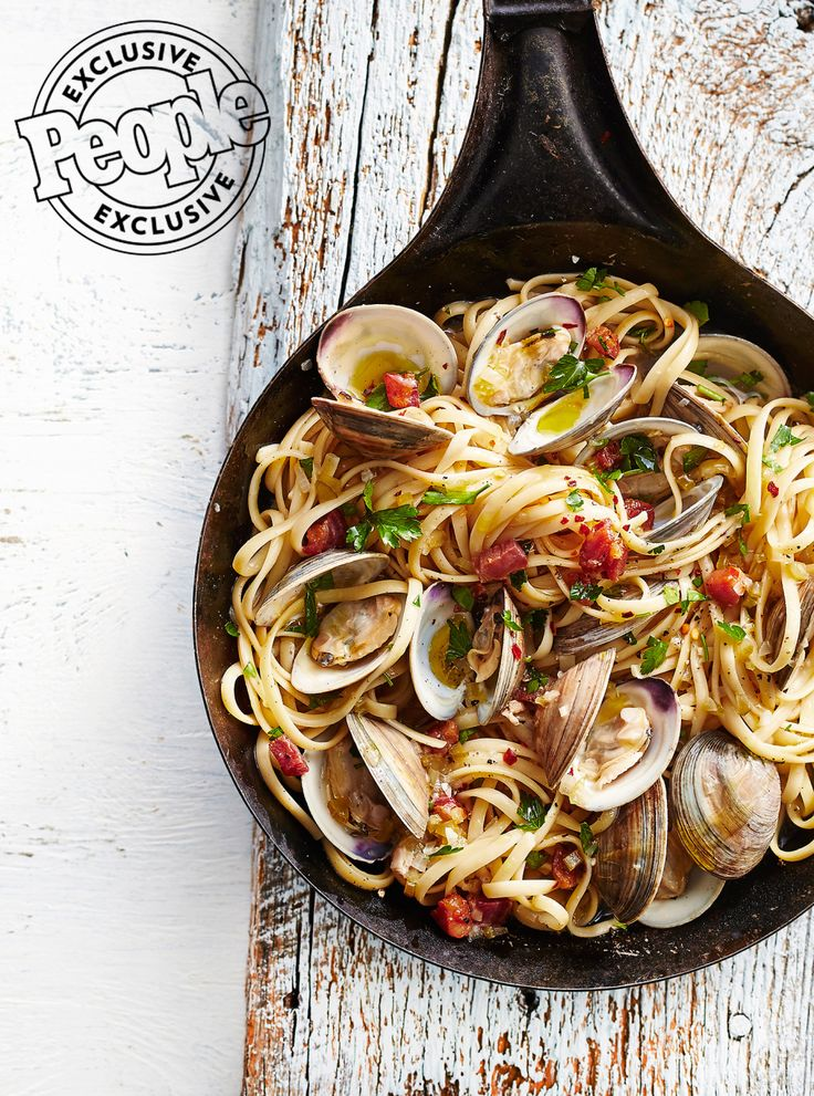 Michael Symon's Linguine with Clams