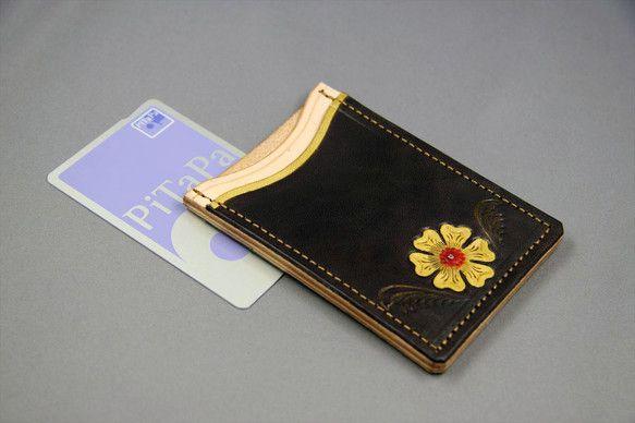 PiTaPa/Suicaケースでストレス無しの改札通過用ケースです。シャツポケットに入れても重くなく快適に取り出せるケースです。 出す事のないPiTaPa等は...|ハンドメイド、手作り、手仕事品の通販・販売・購入ならCreema。
